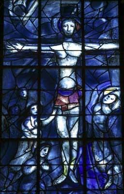 Jésus est mis en croix